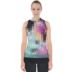 Abstract Butterfly By Flipstylez Designs Shell Top