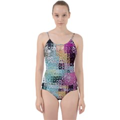 Abstract Butterfly By Flipstylez Designs Cut Out Top Tankini Set