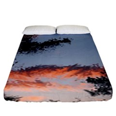 Beautiful Tropics Painting By Kiekie Strickland  Fitted Sheet (king Size)