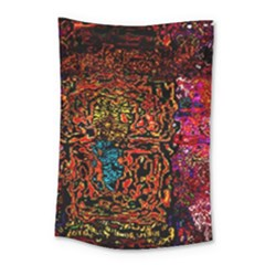 Exotic Water Colors Vibrant  Small Tapestry