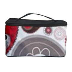 Fun Red And Black Design Cosmetic Storage Case