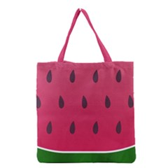 Watermelon Fruit Summer Red Fresh Grocery Tote Bag