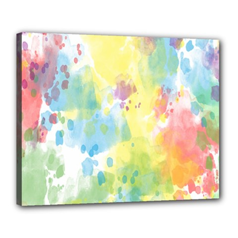 Abstract Pattern Color Art Texture Canvas 20  X 16