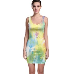 Abstract Pattern Color Art Texture Bodycon Dress