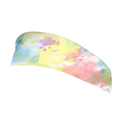 Abstract Pattern Color Art Texture Stretchable Headband