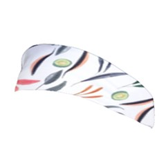 Watercolor Tablecloth Fabric Design Stretchable Headband