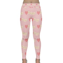 Heart Love Pattern Classic Yoga Leggings