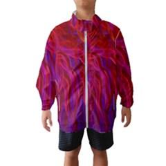 Background Texture Pattern Windbreaker (kids)