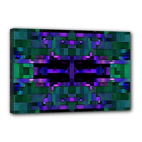 Abstract Pattern Desktop Wallpaper Canvas 18  X 12
