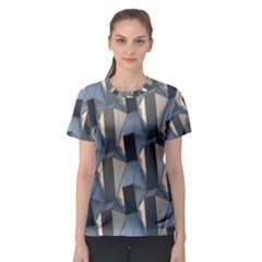 Pattern Texture Form Background Women s Sport Mesh Tee