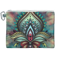 Decoration Pattern Ornate Art Canvas Cosmetic Bag (xxl)