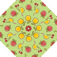 Seamless Pattern Healthy Fruit Golf Umbrellas
