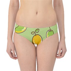 Seamless Pattern Healthy Fruit Hipster Bikini Bottoms