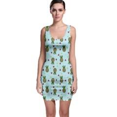 Pineapple Watermelon Fruit Lime Bodycon Dress