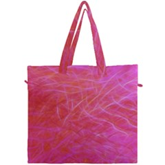 Pink Background Abstract Texture Canvas Travel Bag by Nexatart