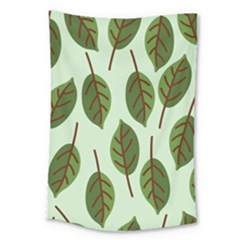 Design Pattern Background Green Large Tapestry