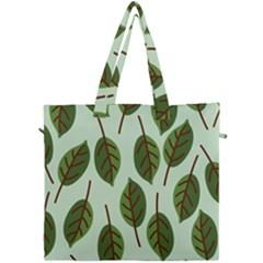 Design Pattern Background Green Canvas Travel Bag by Nexatart