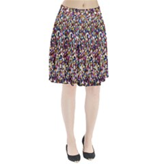 Pattern Abstract Decoration Art Pleated Skirt