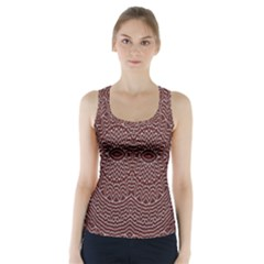 Design Pattern Abstract Racer Back Sports Top
