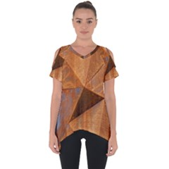 Steel Corten Steel Brown Steel Cut Out Side Drop Tee