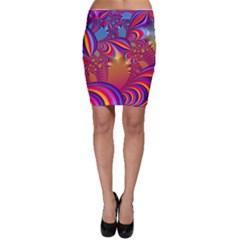 Amazing Fractal 5182b Bodycon Skirt