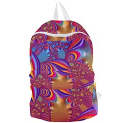 Amazing Fractal 5182b Foldable Lightweight Backpack by MoreColorsinLife
