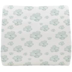 Pastel Floral Motif Pattern Seat Cushion by dflcprints