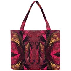 Gorgeous Burgundy Native Watercolors By Kiekie Strickland Mini Tote Bag by flipstylezdes