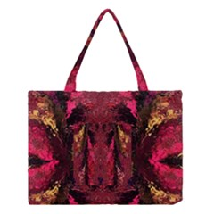 Gorgeous Burgundy Native Watercolors By Kiekie Strickland Medium Tote Bag