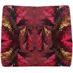 Gorgeous Burgundy Native Watercolors By Kiekie Strickland Seat Cushion by flipstylezdes