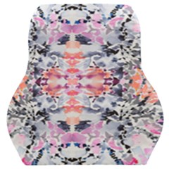 Elegant Japanese Inspired Floral Pattern  Car Seat Back Cushion  by flipstylezdes