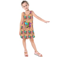 Music Kids  Sleeveless Dress