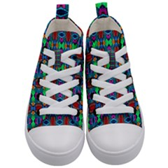 D 7 Kid s Mid Top Canvas Sneakers