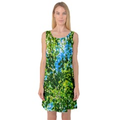 Forest   Strain Towards The Light Sleeveless Satin Nightdress