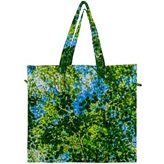 Forest   Strain Towards The Light Canvas Travel Bag by FunnyCow