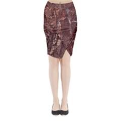 Granite 0115 Midi Wrap Pencil Skirt
