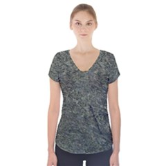 Granite 0091 Short Sleeve Front Detail Top by eyeconart