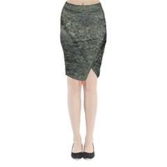 Granite 0091 Midi Wrap Pencil Skirt