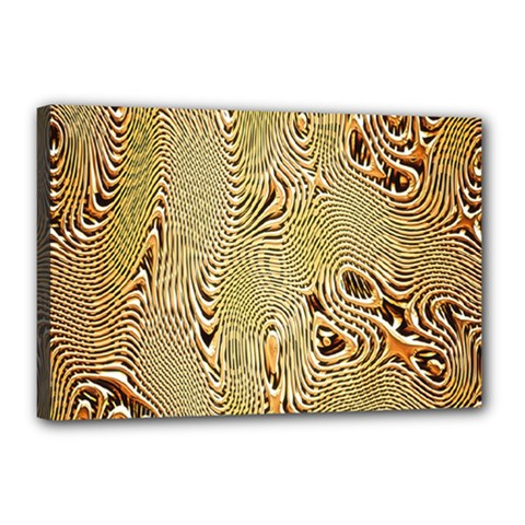 Pattern Abstract Art Canvas 18  X 12