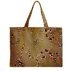 Pattern Abstract Art Zipper Mini Tote Bag