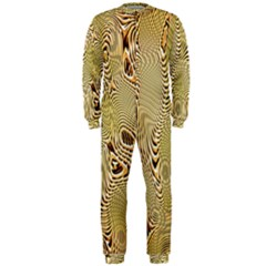 Pattern Abstract Art Onepiece Jumpsuit (men)