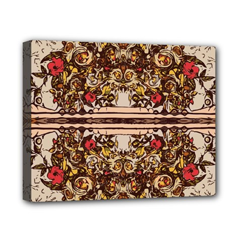 Roses Floral Wallpaper Flower Canvas 10  X 8
