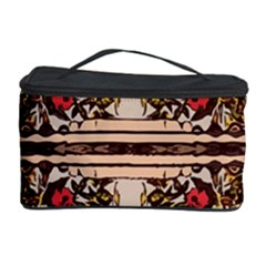 Roses Floral Wallpaper Flower Cosmetic Storage Case by Nexatart