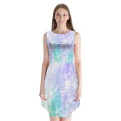 Script 1 Sleeveless Chiffon Dress