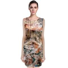Paris Classic Sleeveless Midi Dress