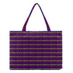French Revolution Typographic Pattern Design 2 Medium Tote Bag