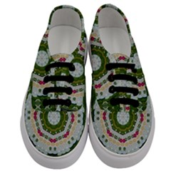 Fantasy Jasmine Paradise Love Mandala Men s Classic Low Top Sneakers