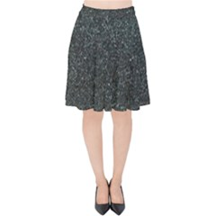 Granite 0600 Velvet High Waist Skirt