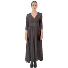 Granite 0239 Button Up Boho Maxi Dress