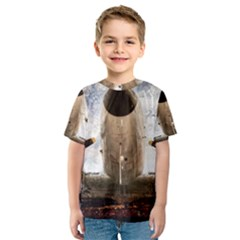 Legend Of The Sky Kids  Sport Mesh Tee by FunnyCow